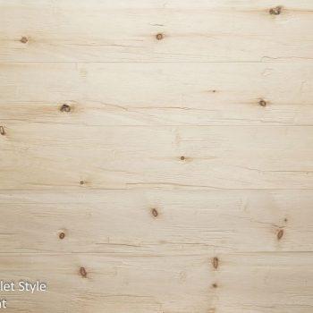 Swiss pine N:F, chopped, brushed, untreated
